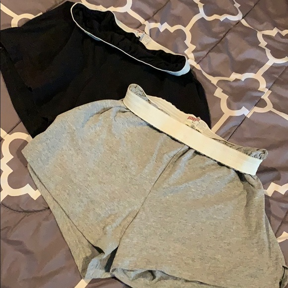 Soffe Pants - 2 for 1 - Black and Gray Soffe shorts